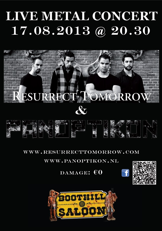 Panoptikon and Resurrect Tomorrow @ Boothill